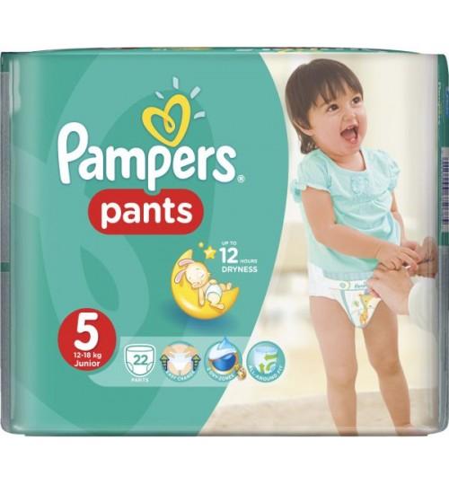 Pampers Pants Junior 5, 22 Pcs